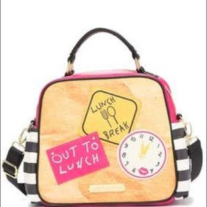 Betsey Johnson Out-to-Lunch Tote Bag